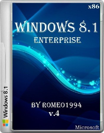 Windows 8.1 Enterprise x86 v.4 by Romeo1994 (2013/RUS)