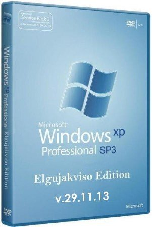 Windows XP Pro SP3 Elgujakviso Edition v.29.11.13 (2013/x86)