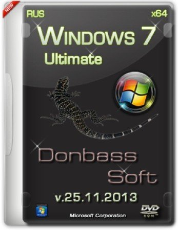 Windows 7 Ultimate SP1 x64 DS v.25.11.13 (2013/RUS)