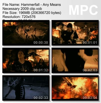 Hammerfall - Any Means Necessary (2009)