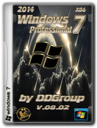 Windows 7 Professional SP1 x86 [v.08.02] RePack by DDGroup
