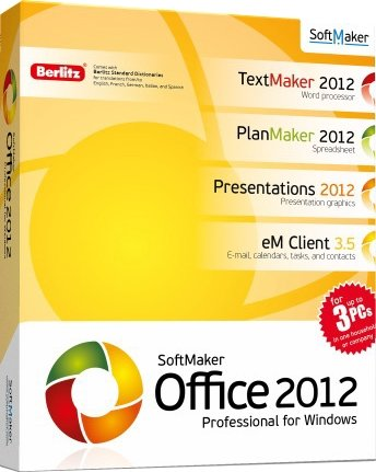SoftMaker Office Professional 2012 rev 688 RePack & Portable by KpoJIuK & D!akov (RusEng) (2014)