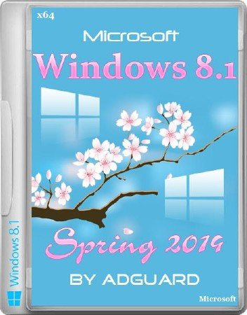 Windows 8.1 Spring 2014 Update by adguard (x64/RUS/ENG/2014)