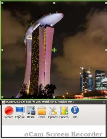 oCam Screen Recorder 22.0