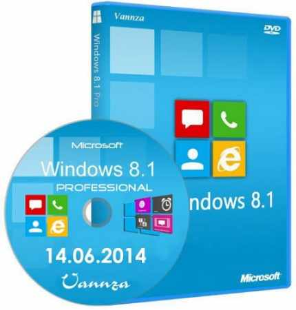 Windows 8.1 Pro x86 With Update Vannza 14.06.2014 (2014) RUS