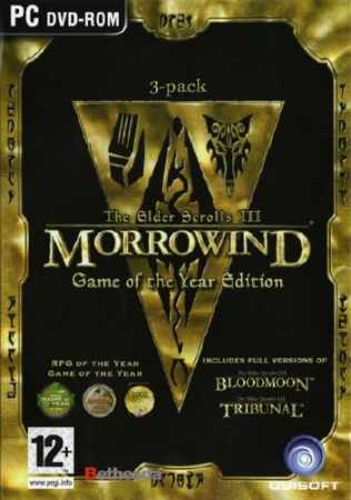 The Elder Scrolls III: Morrowind (2.1mcp/mod 1.5) (2014/Rus/PC) Repack by aL