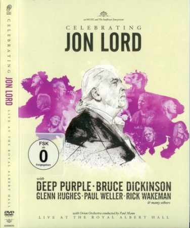 Celebrating Jon Lord - Live at The Royal Albert Hall 2014 (2 х DVD9)